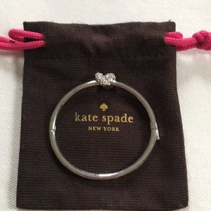 Kate Spade knot bangle bracelet